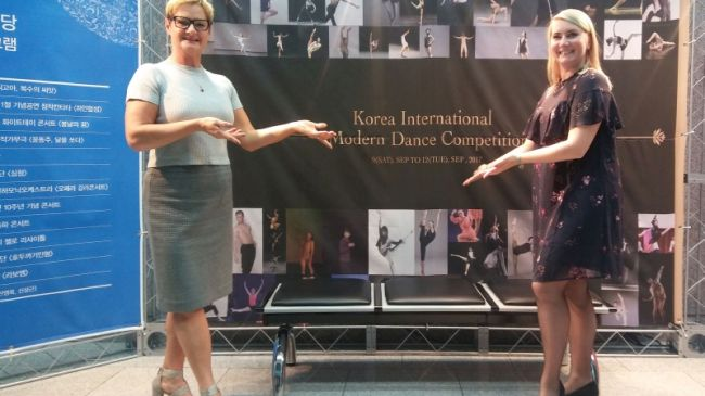 Spotkanie z Anną Beker, jurorem na Korea International Modern Dance Competition